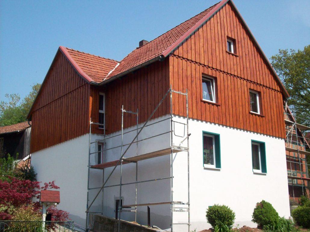 Boden-Deckel-Verkleidung (1) obere Etage und Giebel