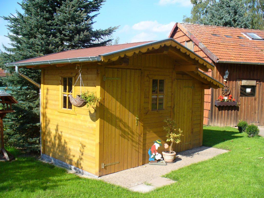gartenhaus mit abstellraum karibu mm mhlendorf im set mit anbaudach m breite terragrau emma. Black Bedroom Furniture Sets. Home Design Ideas