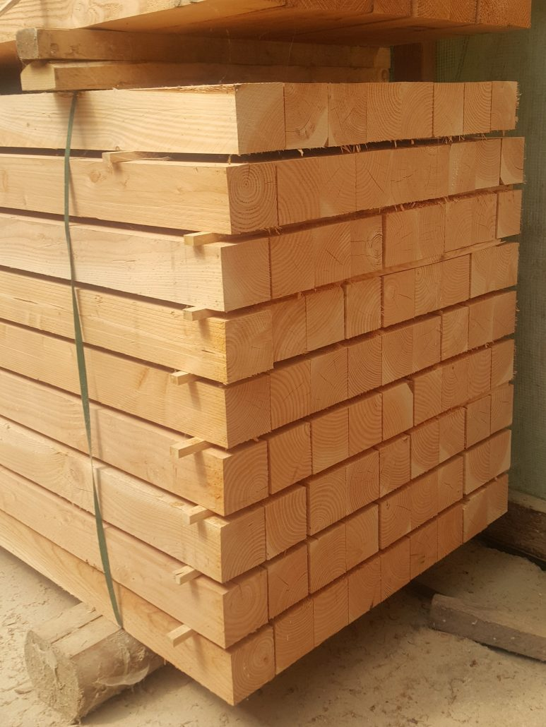 Holzhandel, Douglasie, Kreuzholz