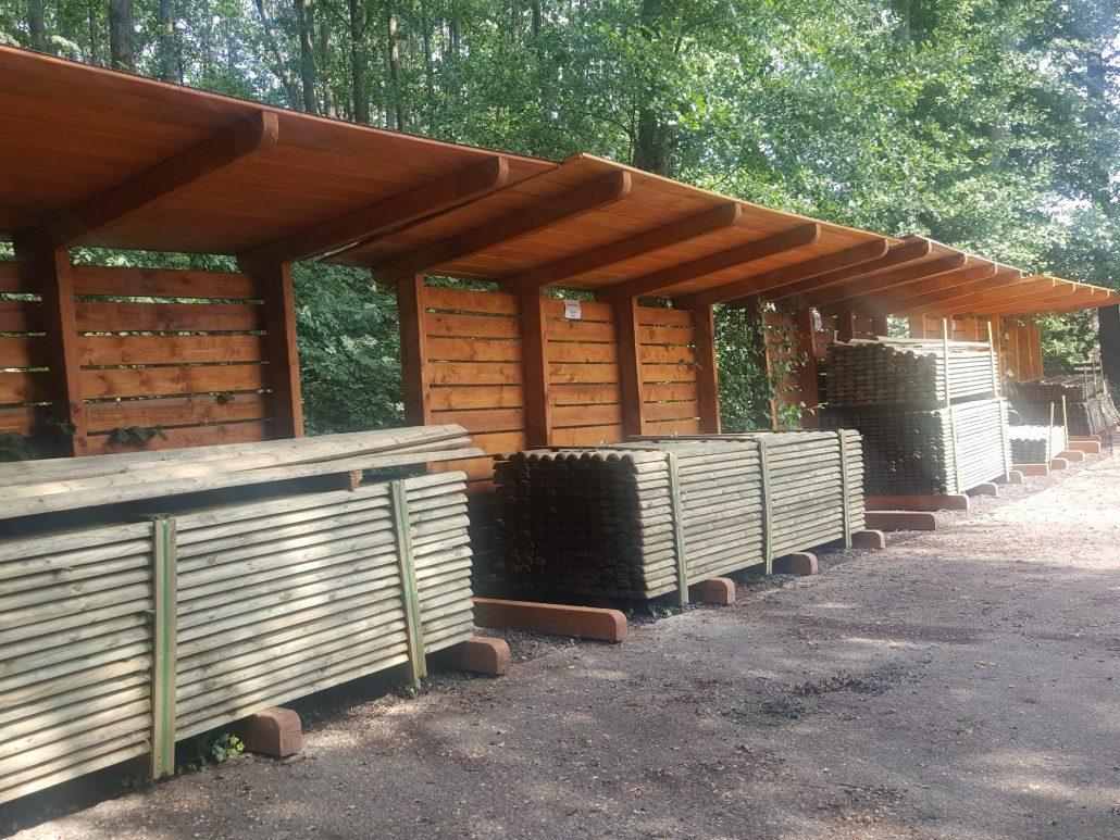Holzhandel, Halbpalisaden (1)