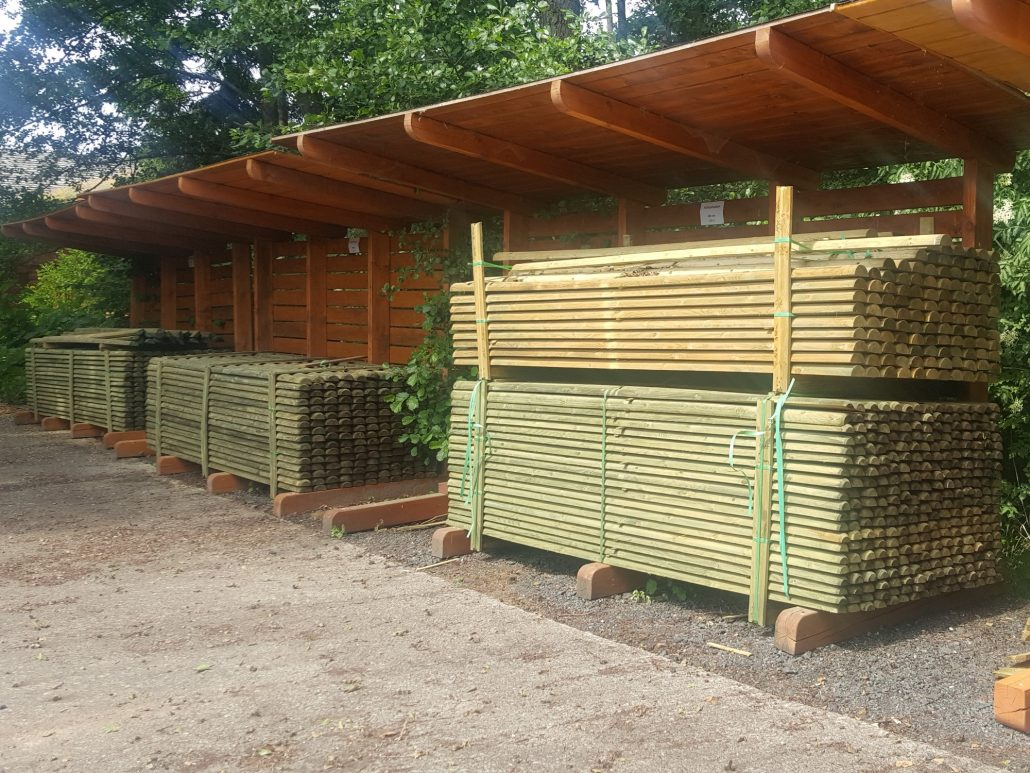 Holzhandel, Halbpalisaden (2)