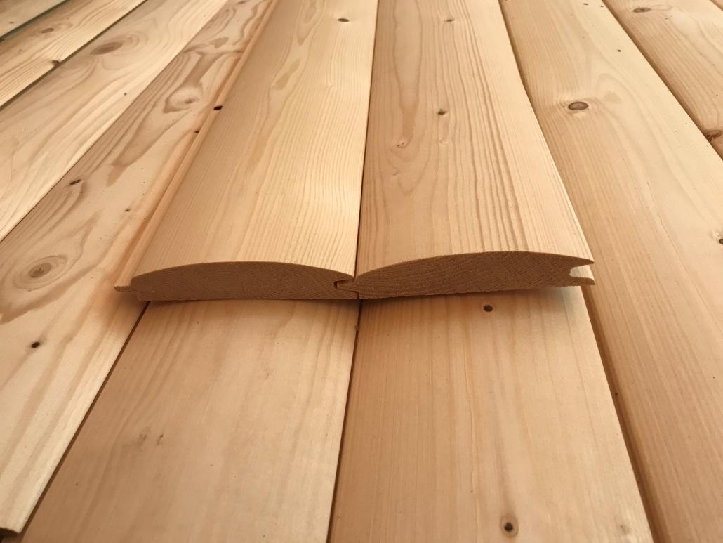 Holzhandel, Blockhausprofilbretter