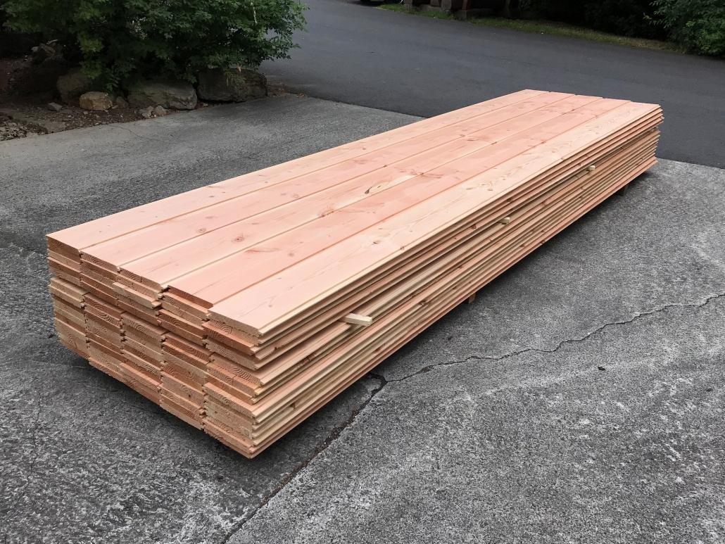 Holzhandel, Douglasie Hobeldiele (1) Profilbrett 24x200 mm, 4,00 m