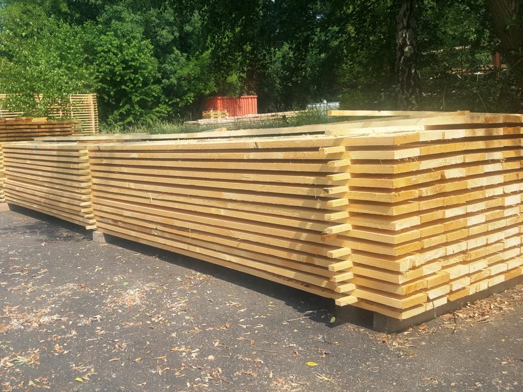 Holzhandel, Schalung